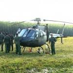 Pilotos do Exército fazem treinamento de combate em fazenda de São Carlos