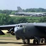 Três bombardeiros B-52´s dos EUA, chegam a Europa para o Exercício BALTOPS