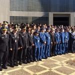 Cerca de 200 policiais de mais de 30 países monitoram torcedores durante a Copa do Mundo