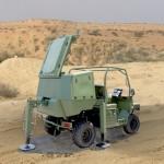A IAI apresentará na feira Eurosatory o seu novo radar portátil