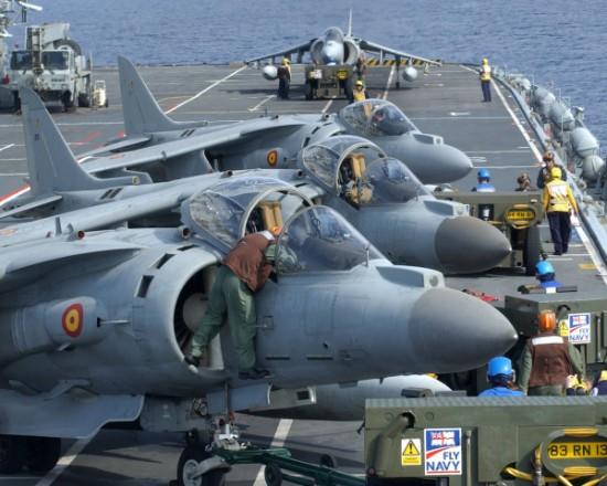 Spanish AV-8B Harrier 27/09/2007