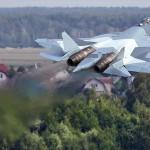 Força Aérea Russa recebeu seu primeiro caça T-50 de produção em série