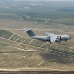 Airbus A400M realiza os primeiros lançamentos de tropas de pára-quedistas