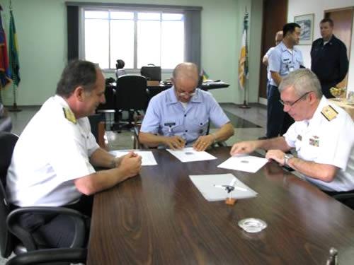 Assinatura do Termo de Cooperação