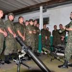 Força Aérea Brasileira prepara o oitavo pelotão de infantaria para missão de paz no Haiti