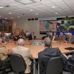 Visita dos Oficiais Generais da reserva ao Centro de Comando e Controle da Força Terrestre