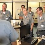 CGEM recebe o Comandante de Operações Navais em Inspeção Administrativo-Militar 2014