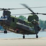 Boeing completa a entrega dos Chinooks Canadenses