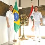 Comando-em-Chefe da Esquadra recebe visita do Comandante da Marinha do Líbano