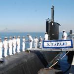 Comandante da Força de Submarinos do Peru visita o Comando da Força de Submarinos da Marinha do Brasil