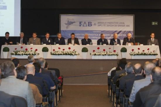 Conferência discute necessidades da FAB - Foto Cb Vinicius Ag Força Aérea