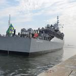 """Fragata """"Constituição"""" parte do Rio de Janeiro para integrar a Força-Tarefa Marítima no Líbano"""