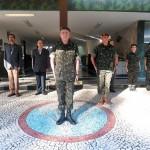 Visita do Diretor de Educação Técnica Militar ao Centro de Instrução Pára-quedista General Penha Brasil