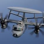 A U.S Navy faz um novo pedido para mais 25 aeronaves E-2D Advanced Hawkeye