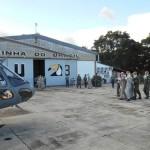 Serviço de Investigação e Prevenção de Acidentes Aeronáuticos da Marinha realiza VSA no EsqdHU-3