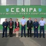 Agência de aviação civil americana (FAA) visita o CENIPA