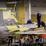 Primeiro caça Gripen NG entra em montagem final na Suécia
