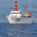 """Navio Oceanográfico """"Antares"""" realiza a Comissão """"Prata 2014"""""""