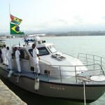 Ministério da Defesa doa lancha de patrulha para a Guarda Costeira de São Tomé e Príncipe