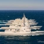 Fotos – Fragatas da Classe Àlvaro de Bazán navegando juntas pela primeira vez