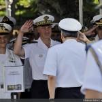 ComOpNav recebe visita do Comandante das Forças Submarinas e Estratégica Francesa