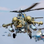 Rússia prestes a produzir comercialmente os helicópteros Mi-28N modernizados