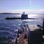 """Rebocador de Alto-Mar """"Tridente"""" realiza exercício de reboque com o Submarino """"Timbira"""""""