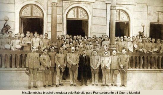 Missão Médica na I WW