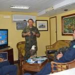 """Oficiais da FAB e do EB ministram palestras institucionais durante a Operação """"Bracolper 2014"""""""
