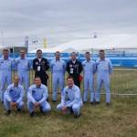 Pilotos da Esquadrilha da Fumaça participaram da Royal International Air Tattoo na Inglaterra