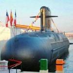 "Sub SS-22 ""General Carrera"" e a fragata FF-06 ""Condell"" da Armada Chilena, colidem durante exercicios"