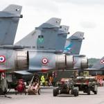 Caças franceses baseados na Polônia, interceptaram aviões russos dois dias seguidos