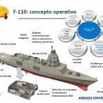 Projeto da futura fragata F-110 para a Armada Espanhola recebe luz verde