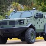 Armor International conclui a construção de dois novos veículos Hunter TR-12 MRAP