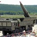 Rússia pensa em exportar complexos balísticos Iskander