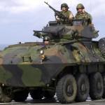 Armada Peruana acerta a compra de blindados LAV II para a sua Brigada Expedicionária Anfíbia