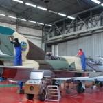 Moçambique vai receber oito caças Mig-21 que foram modernizados pela empresa Aerostar