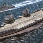 Rainha da Inglaterra batizará seu porta-aviões com uísque