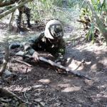 Acampamento de longa duração do 1º Grupo de Artilharia Antiaérea