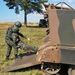 13º Batalhão de Infantaria Blindado realiza Estágio de Blindados de Comandante de Pequena Fração