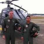 Primeiro Vôo de Instrução de Militar Boliviano