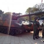 Exposição do 16º Grupo de Artilharia de Campanha Autopropulsado