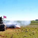 19º Regimento de Cavalaria Mecanizado realiza exercicio de tiro real com o armamento coletivo