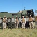 Intercâmbio de especialistas no centro de excelência de fogos do Exército dos EUA