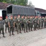 Operação Escudo II : 21ª Bateria de Artilharia Antiaérea Pará-quedista em ação