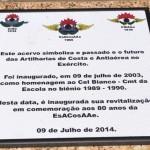 EsACosAAe revitaliza a sala de acervo Gen Samuel e o acervo ao ar livre Cel Bianco