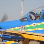 Esquadrilha da Fumaça finaliza missão na Base Aérea de Campo Grande