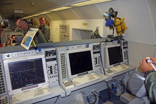 Boeing E-3 Sentry..Nato Awacs..Inside..EBFS 2012 (2)