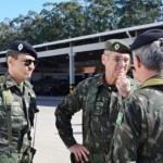 Visita do Comandante de Operações terrestres (COTER) ao CIBld