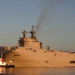 Russia pagará pelos Mistral ao receber o segundo navio